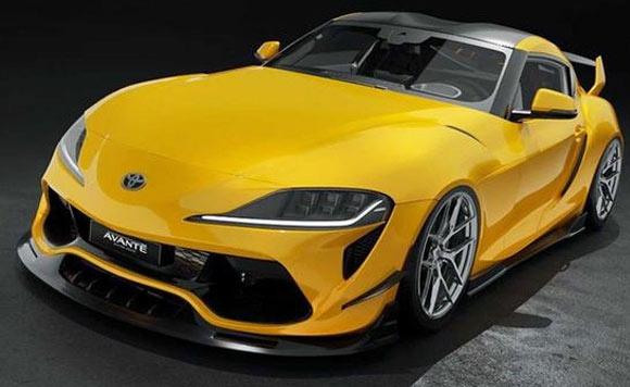 丰田Supra全新改装版 贯穿式进气格栅
