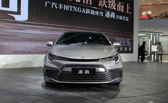 广汽丰田凌尚正式上市 售14.88万元起
