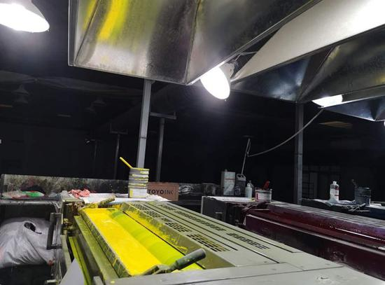 郑州杨金路金辉印刷厂直排废气 生态环保部点名曝光
