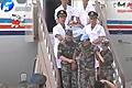 维和烈士专机抵达新郑国际机场...