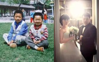 濮阳小夫妻结婚后发现21年前曾偶然合影