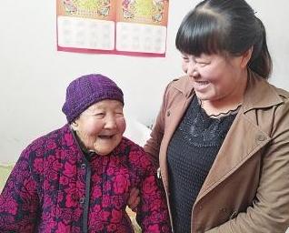 三门峡54岁孙媳照顾103岁奶奶 三十年没回娘家住过