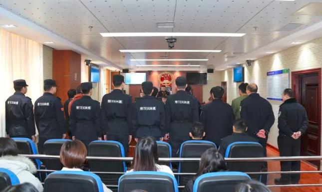 六人恶势力犯罪集团非法拖车牟利 庭审现场曝光