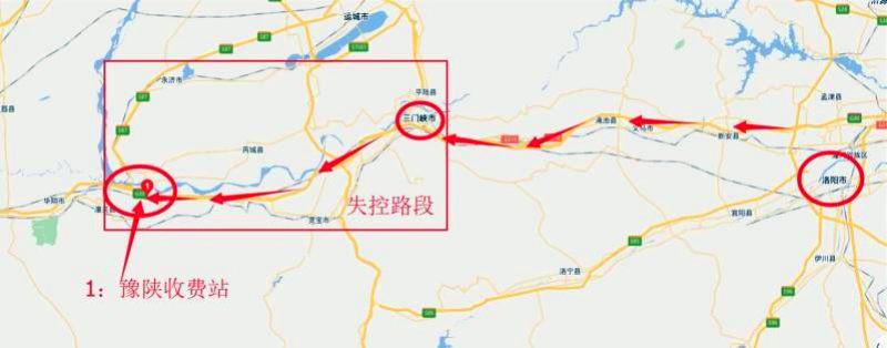 生死时速!奔驰车失控狂奔百公里 豫陕高速交警联手施救