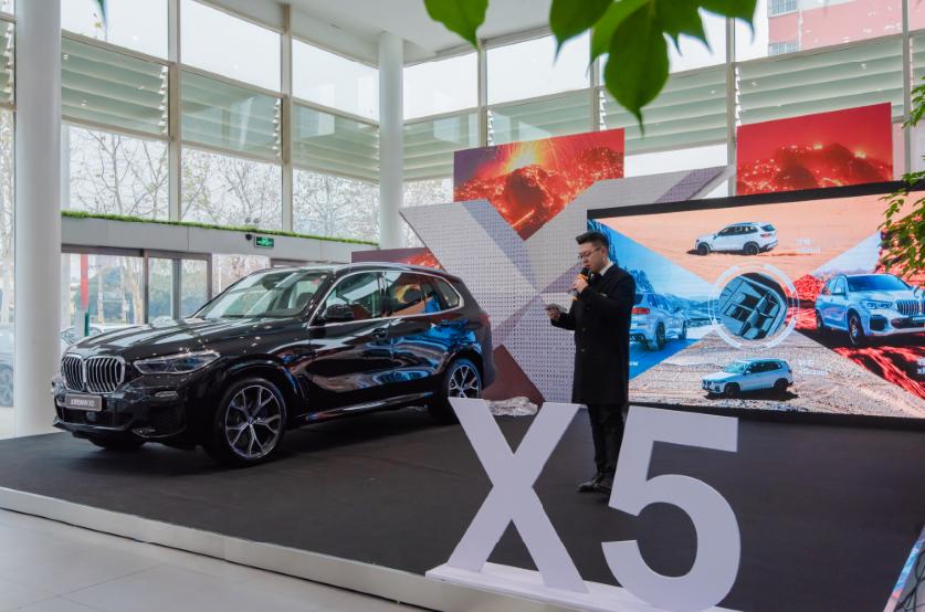 全新BMW X5在平顶山宝莲升傲然上市