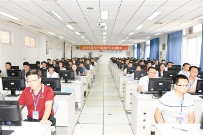 记者探访河南高考评卷基地:高考试卷是这样改出来的