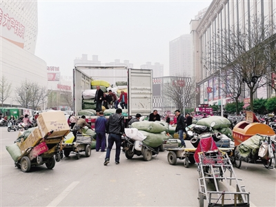 治理郑州银基商圈拥堵