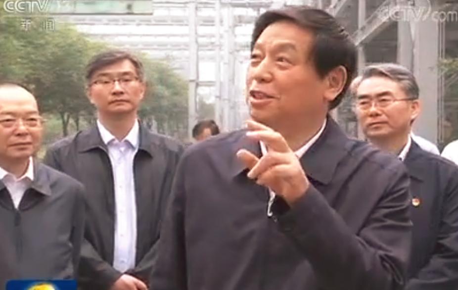 栗战书在河南检查大气污染防治法实施情况