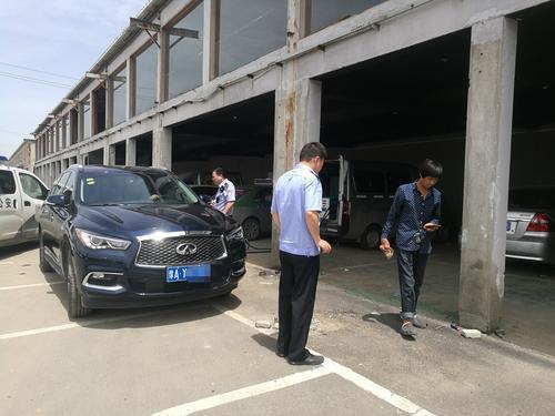 郑州废弃物流园车来车往豪车也来凑热闹 有啥猫腻