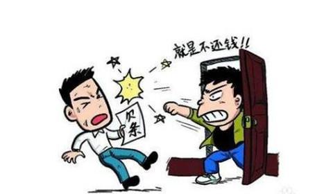 """郑州男子借18万元不还 民警找上门知道""""事大了"""""""
