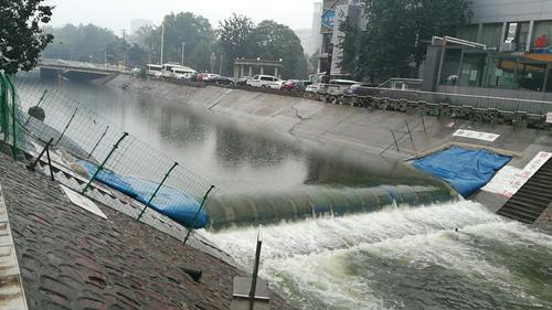 郑州这两条河暂停输水一个月后昨日恢复正常供水