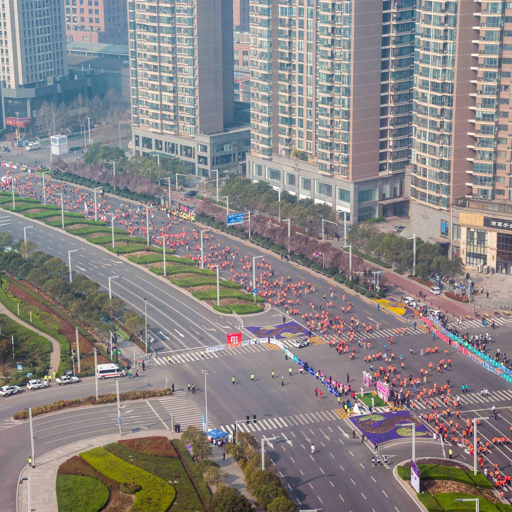 2018郑开国际马拉松赛精彩瞬间(一)