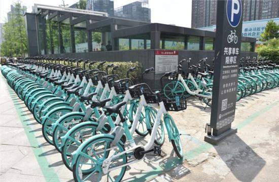 """共享单车限停 停车管理示范…郑州有关""""停车""""的探索还在继续"""