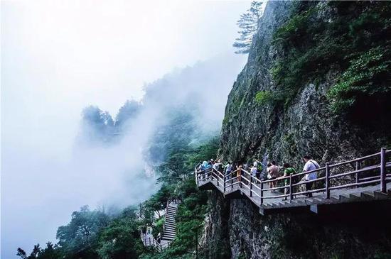 景点名称:老君山风景区