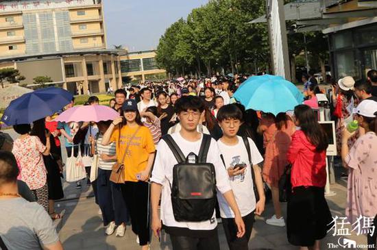 河南省共有16548名考生可加分投档 不超过20分