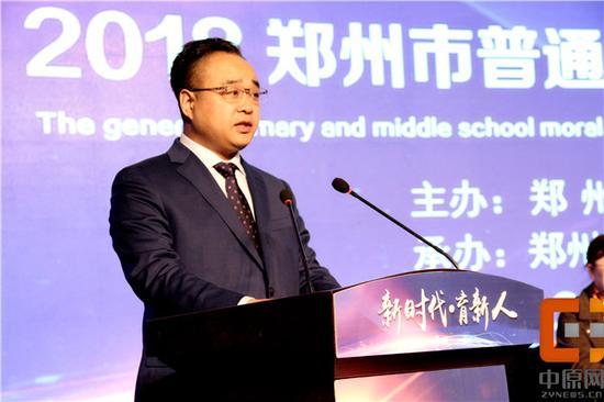 田鸿鹏局长分享高新区德育建设的经验