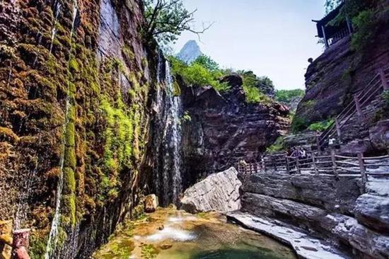 景点名称:云台山风景区