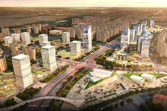 郑州航空港区城市设计三大方案出炉