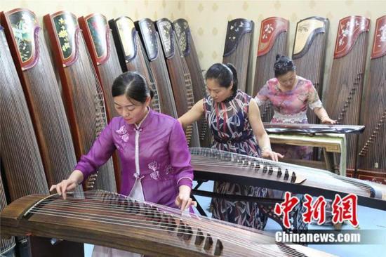 兰考古筝 兰考县委宣传部供图