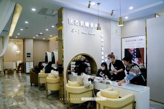 郑州这家日式美甲美睫店,总有你想要的款!