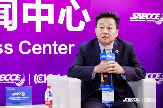 蔚来汽车执行副总裁兼全球质量委员会主席沈峰(图片来源:SAECCE)