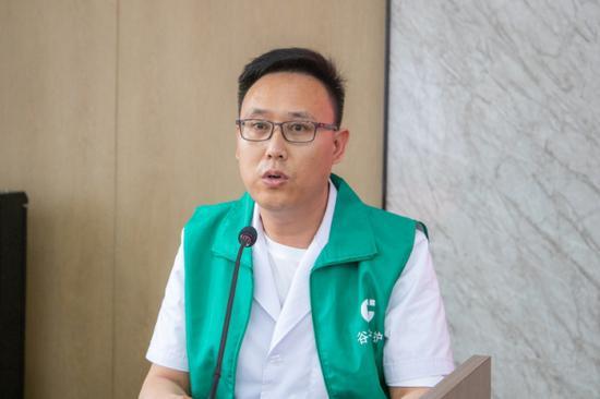 """""""谷子益护""""志愿服务队武朝阳医生讲解应急处理方法"""