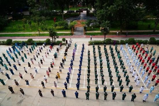 出征郑州六院!来自9家医疗单位的11支医疗队伍集结完毕