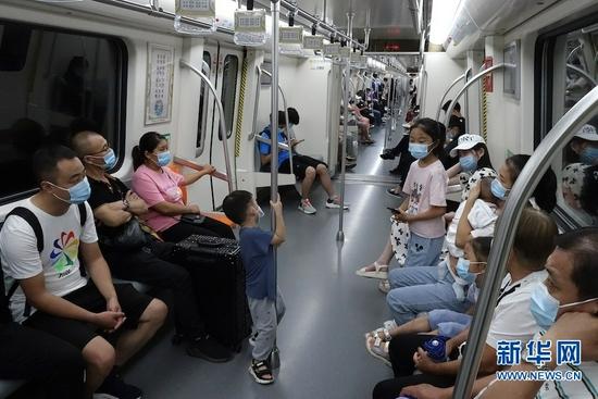 郑州地铁首批3条线路恢复载客运营