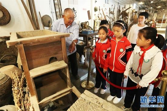 """""""忆苦思甜""""博物馆里感受中国传统农耕文化"""