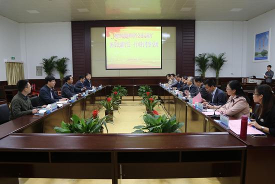 该校党委书记王清义会见河南省交通运输厅副厅长唐彦民