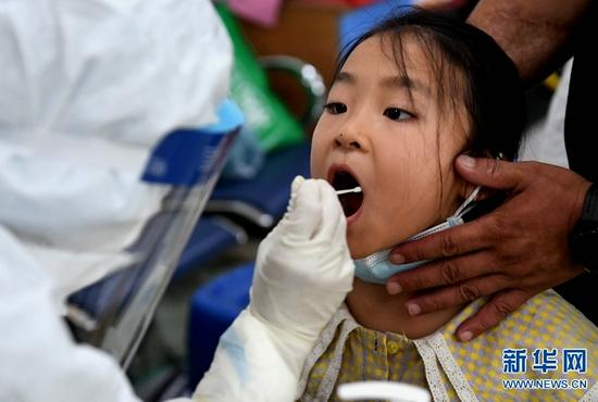 郑州核酸检测完成采样124万多份(图)