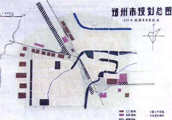 2020 2035年郑州城市规划编制启动 附 历史规划图