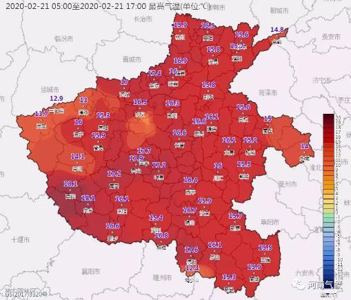未来三天暖意回归 23日夜晚到24日河南大部有雨