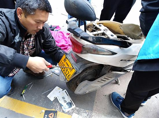 郑州电动车防盗备案登记安装量已达100多万辆
