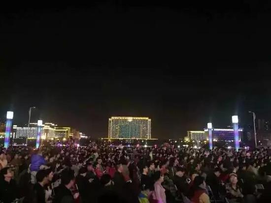 开元湖音乐喷泉