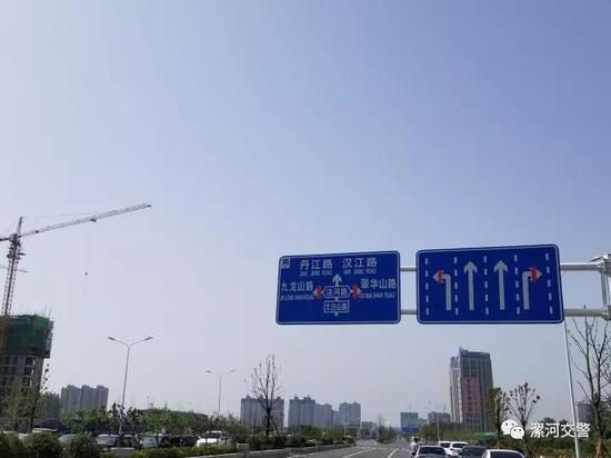 目前,大型车辆还不能通过太白山路沙河桥。