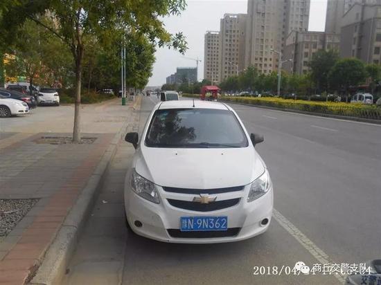 违法车辆:豫N9N362