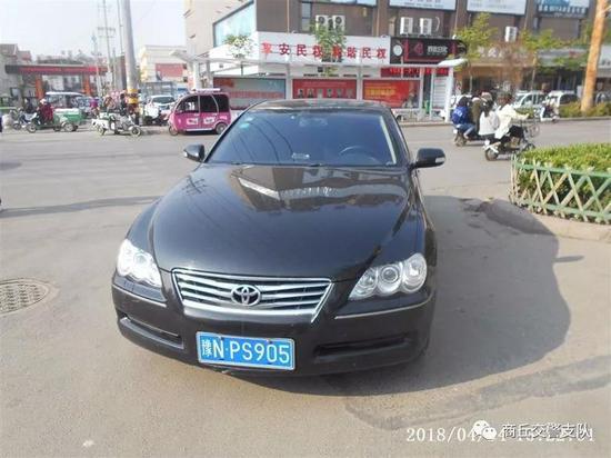 违法车辆:豫NPS905