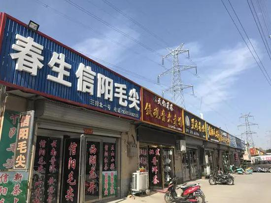 万邦茶城搬走后,这里的环境会上一个档次。