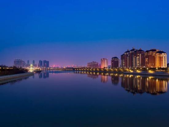 ●贾鲁河畔 摄影:井宪涛