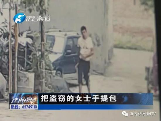 """新乡:卫辉男子""""缩骨""""盗窃诊室 逃跑途中被抓包"""