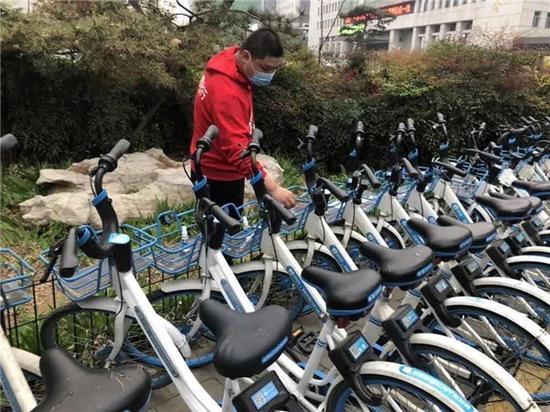 骑行量上涨520%!疫情下共享单车成不少郑州市民出行首选