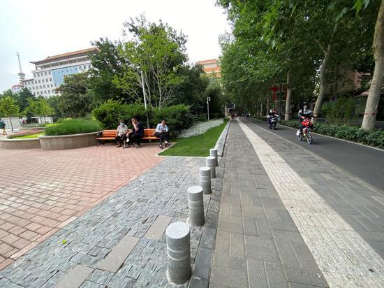 打卡郑州经一路:生河南省新闻咨询活跟着环境美起来(图)