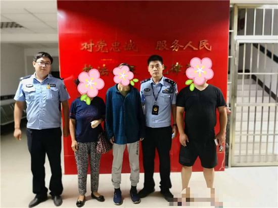郑州七旬痴呆老人不慎走失 还在警局住了一天