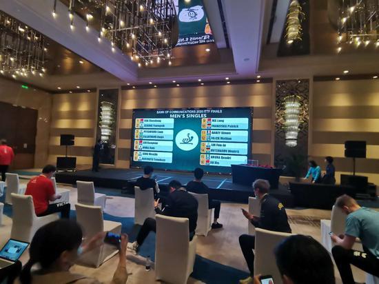 国际乒联总决赛抽签:马龙内斗徐昕 樊振东阻击张本智和