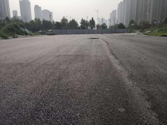 郑州二七区双铁路西段建成 双铁