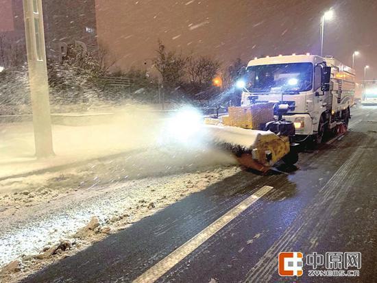 bob电竞:郑州降雪今日中午停止 下周一或再迎雨雪 小心出行