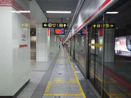 郑州地铁全线停运10天后 1号线今天早上实现空载运行
