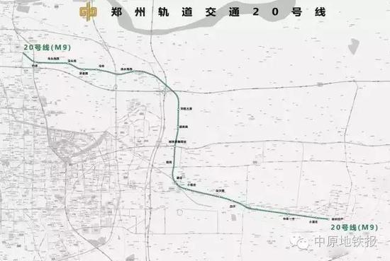 郑州21条地铁路线工期规划 快看看哪条在你家附近