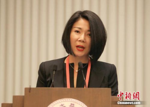 东润公益基金会理事长孔东梅致辞